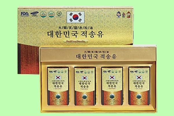 Tinh dầu thông đỏ Hàn Quốc Solnara Red Pine