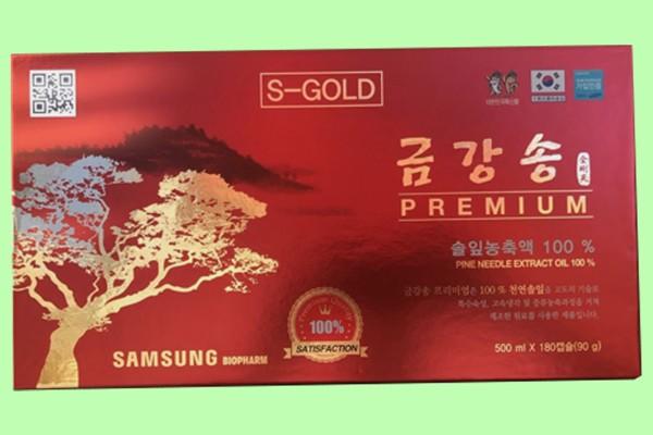 Tinh dầu thông đỏ Samsung 120 viên