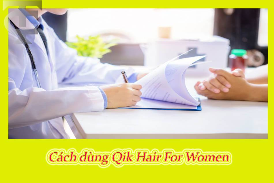 Cách sử dụng - Liều dùng của Qik Hair For Women USA