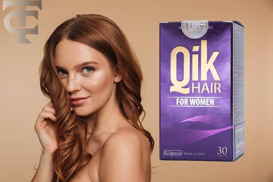 Tác dụng của Qik Hair For Women