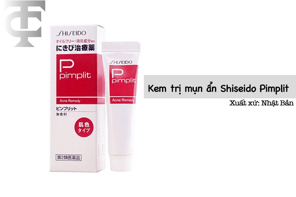 Hình ảnh Kem trị mụn ẩn Shiseido Pimplit