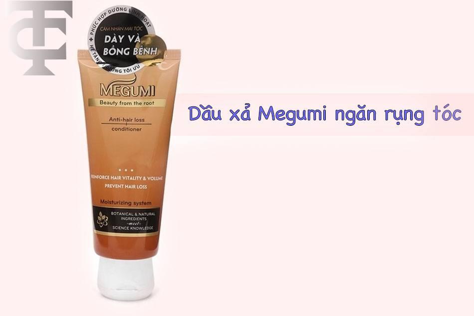 Dầu xả Megumi ngăn ngừa rụng tóc