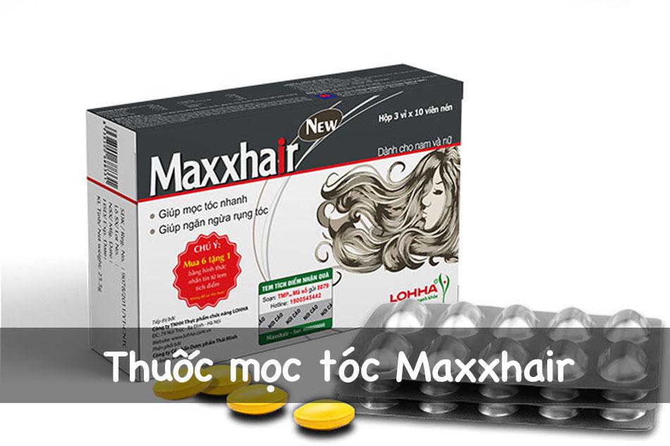Thuốc mọc tóc Maxxhair