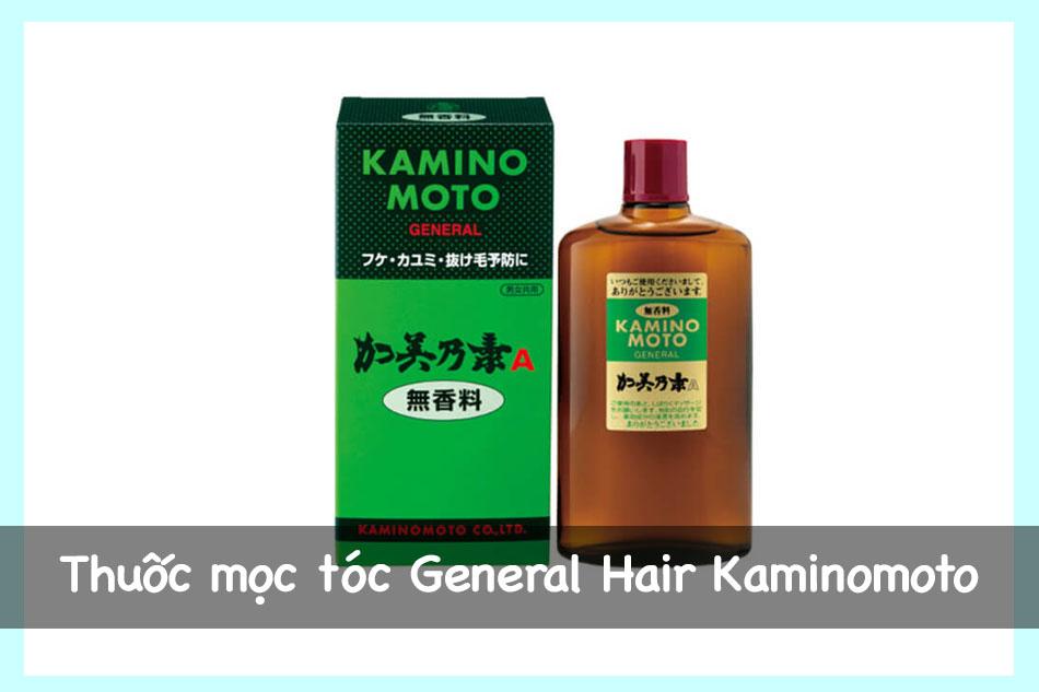 Thuốc mọc tóc General Hair Kaminomoto