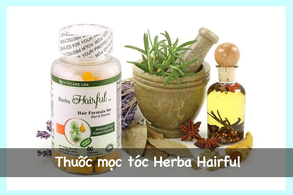 Thuốc mọc tóc Herba Hairful