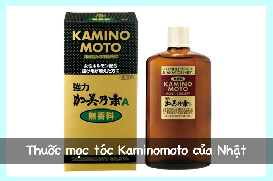 Thuốc mọc tóc Kaminomoto của Nhật