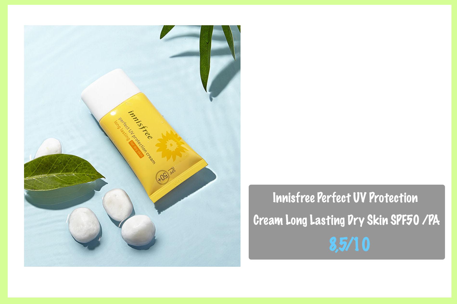 Kem chống nắng cho da khô của Innisfree - Innisfree Perfect UV Protection Cream Long Lasting Dry Skin SPF50 /PA